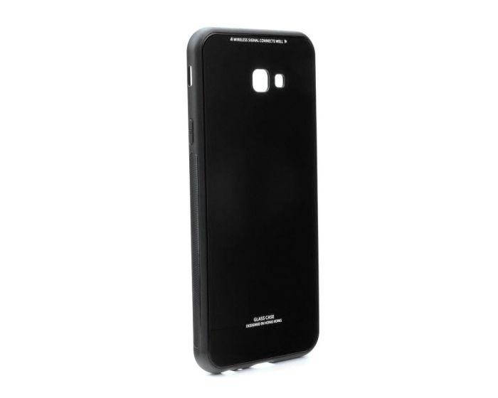 Forcell Glass TPU Case Black (Samsung Galaxy J4 Plus 2018)