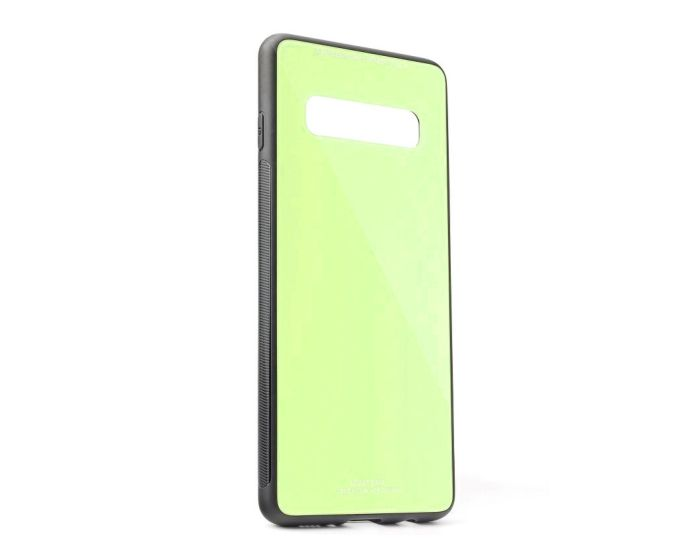 Forcell Glass TPU Case Lime (Samsung Galaxy S10)