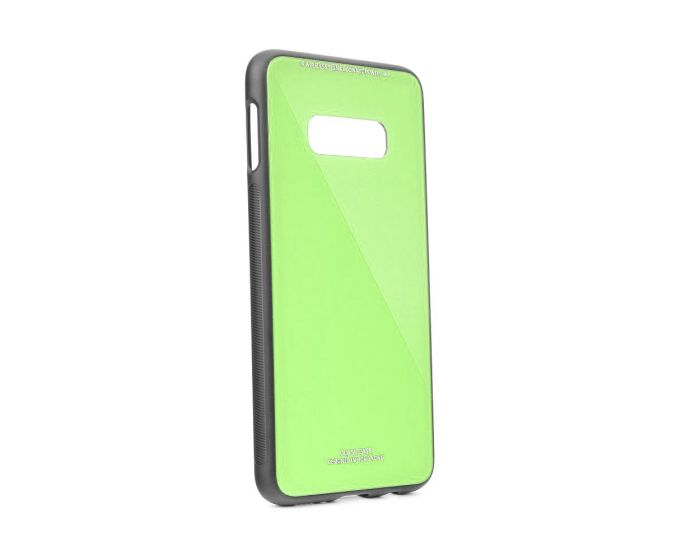 Forcell Glass TPU Case Lime (Samsung Galaxy S10e)