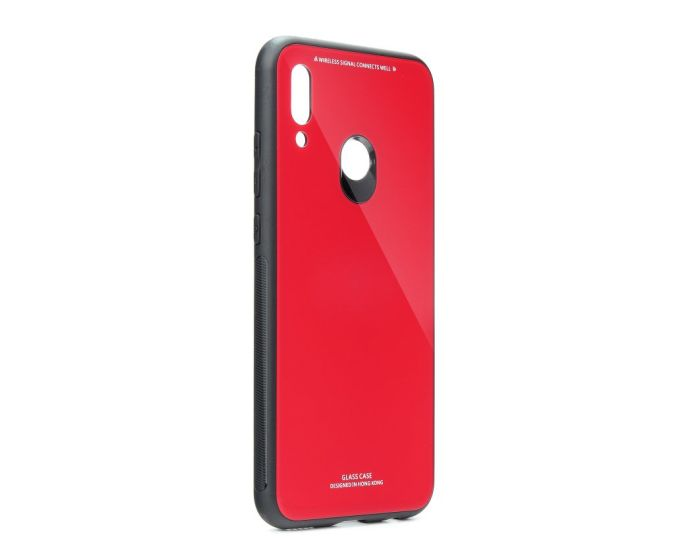 Forcell Glass TPU Case Red (Huawei P Smart 2019 / Honor 10 Lite)