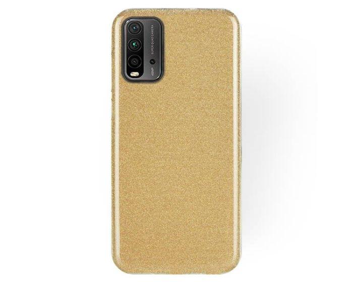 Forcell Glitter Shine Cover Hard Case Gold (Xiaomi Poco M3 / Redmi 9T)