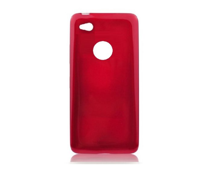 Forcell Jelly Flash Slim Fit Case Θήκη Gel Red (Huawei P8 Lite 2017 / P9 lite 2017 / Honor 8 Lite)