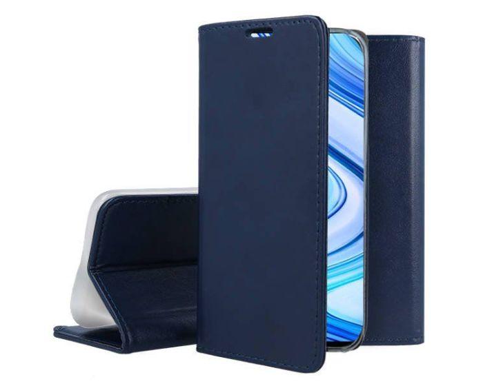 Forcell Magnet Wallet Case Θήκη Πορτοφόλι με δυνατότητα Stand Navy Blue (Xiaomi Redmi 7)