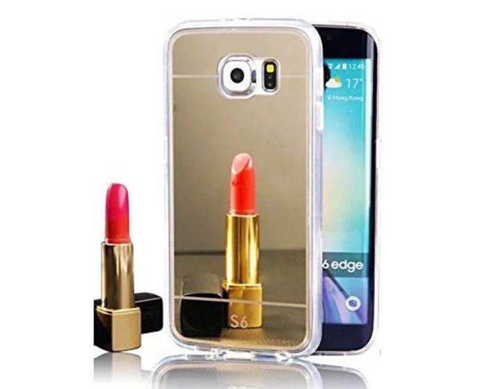 Forcell Mirror Slim Fit Gel Case Θήκη Σιλικόνης Gold (Samsung Galaxy Note 5)