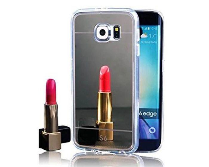Forcell Mirror Slim Fit Gel Case Θήκη Σιλικόνης Black (Samsung Galaxy Note 5)