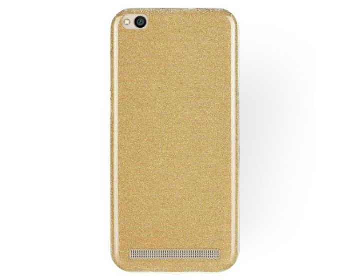Forcell Glitter Shine Cover Hard Case Gold (Xiaomi Redmi 5A)
