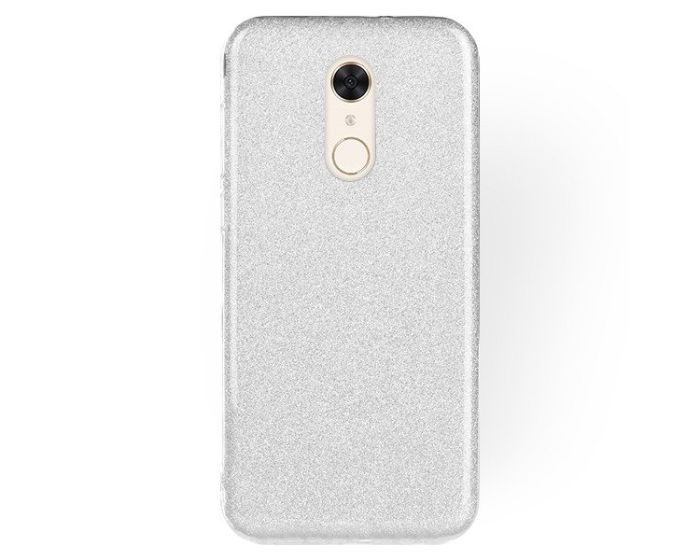 Forcell Glitter Shine Cover Hard Case Silver (Xiaomi Redmi 5)