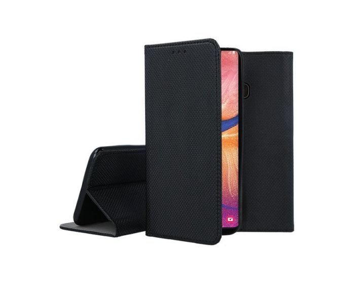 Forcell Smart Book Case με Δυνατότητα Stand Θήκη Πορτοφόλι Black (Nokia 5.3)