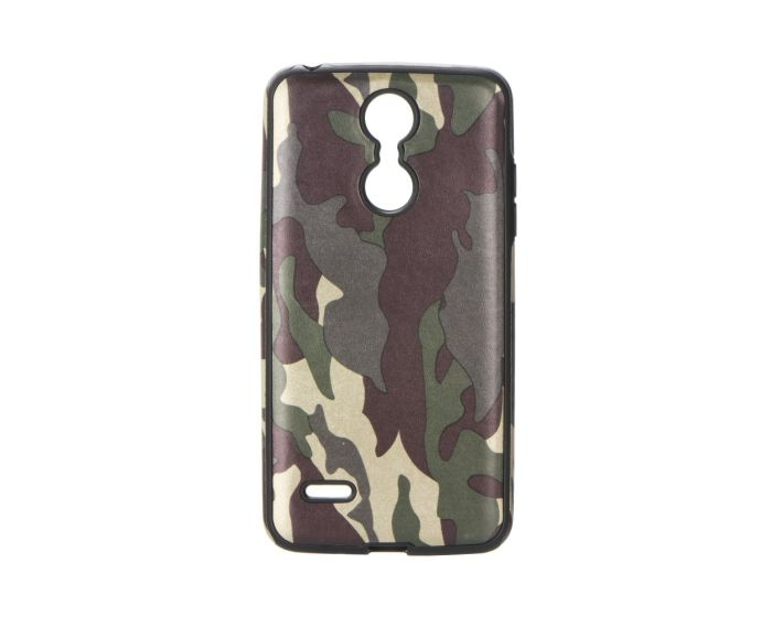 Forcell TPU Military Camouflage Case - Khaki (Huawei Mate 10 Lite)