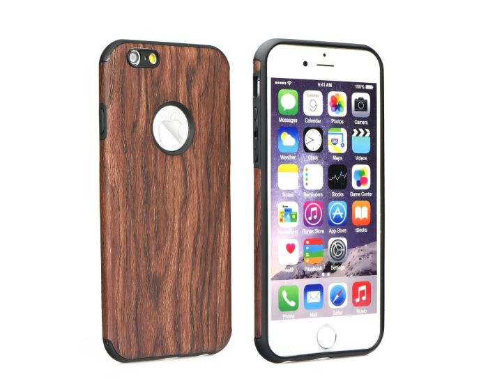 Forcell Soft TPU Wooden Pattern Μαλακή Θήκη (Huawei Ascend P8 Lite)
