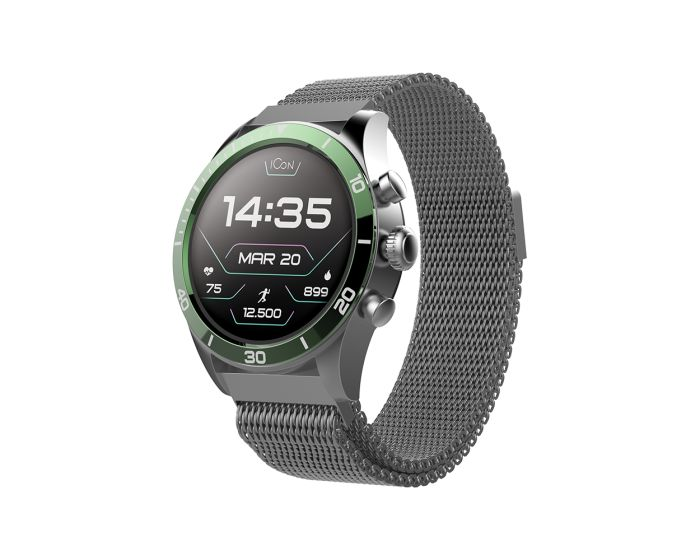 Forever Icon AW-100 AMOLED Smartwatch - Green