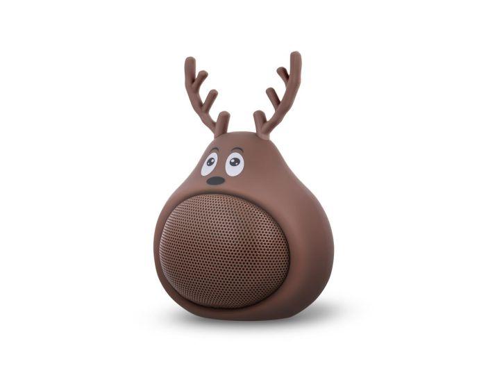Forever Bluetooth Speaker ABS-100 Ασύρματο Ηχείο Sweet Animal Deer Frosty