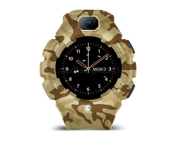 Forever Care Me KW-400 GPS WiFi Smartwatch for Kids - Camouflage