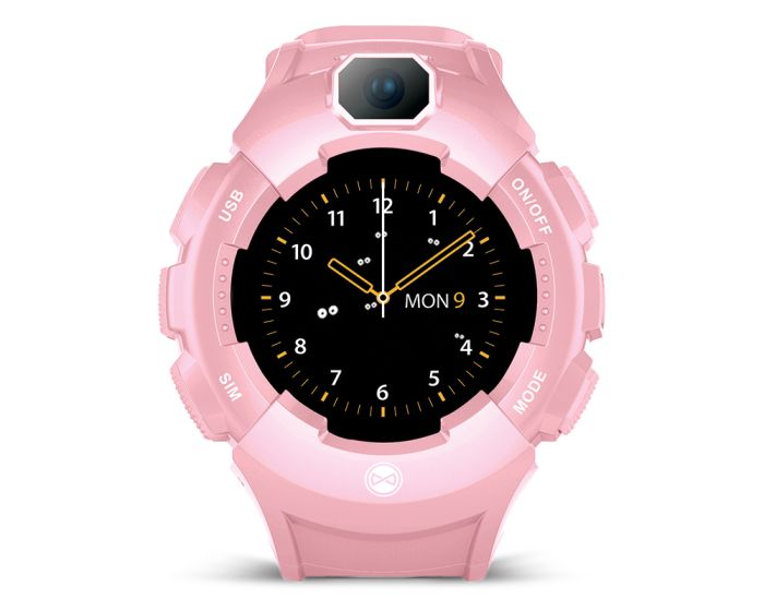 Forever Care Me KW-400 GPS WiFi Smartwatch for Kids - Pink