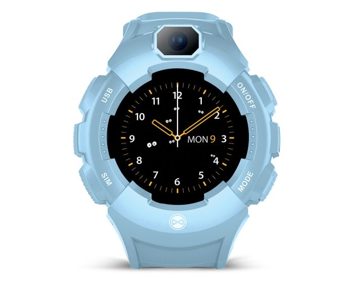 Forever Care Me KW-400 GPS WiFi Smartwatch for Kids - Blue