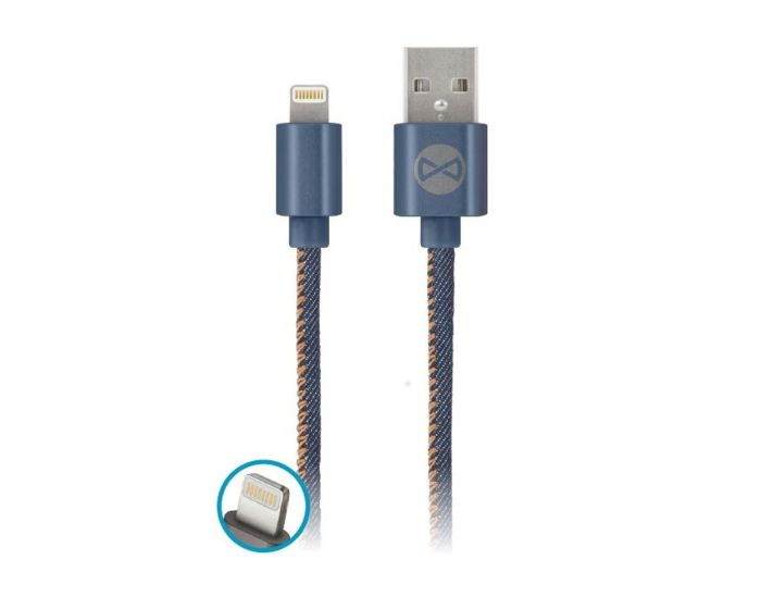 Forever Jeans Cable Lightning Data Sync & Charging 2A 1m