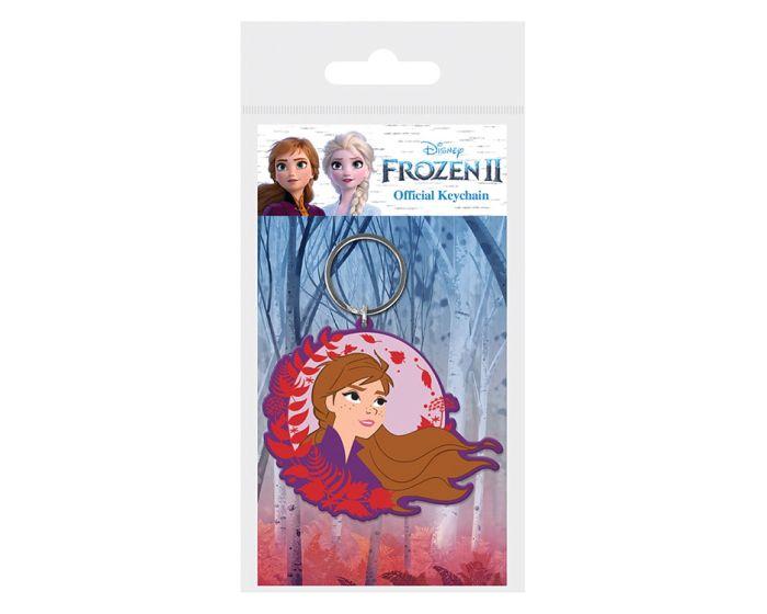 Frozen 2 (Anna) Rubber Keychain - Μπρελόκ