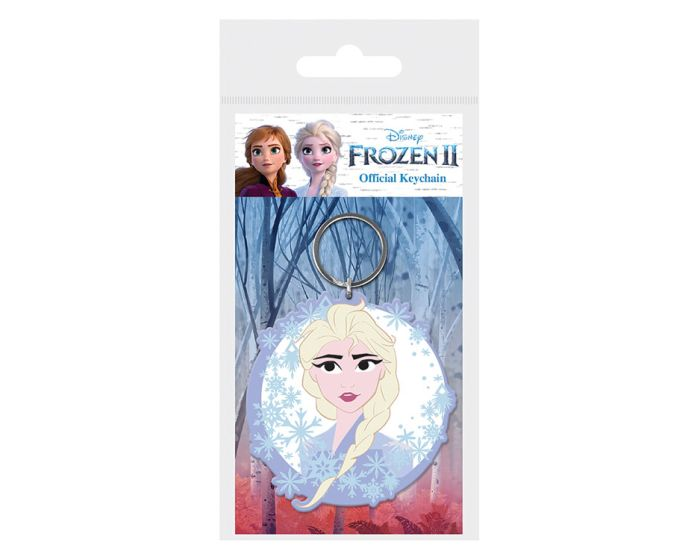 Frozen 2 (Elsa) Rubber Keychain - Μπρελόκ