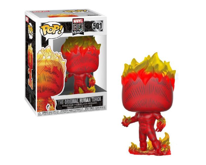 Funko POP! Marvel: 80th - First Appearance - Human Torch #501