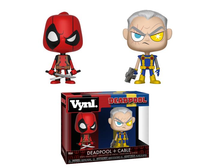 Funko VYNL. Marvel Comics 2 Pack - Deadpool & Cable