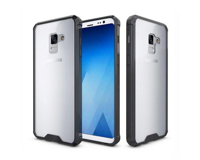Hybrid Fusion Case Clear / Black (Samsung Galaxy A8 2018)
