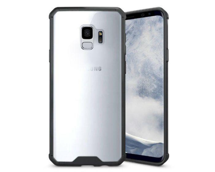 Hybrid Fusion Case Clear / Black (Samsung Galaxy S9)