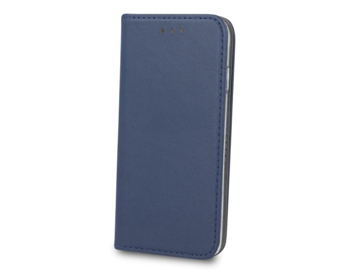 Forcell Magnet Wallet Case Θήκη Πορτοφόλι με δυνατότητα Stand Navy Blue (Samsung Galaxy A20e)