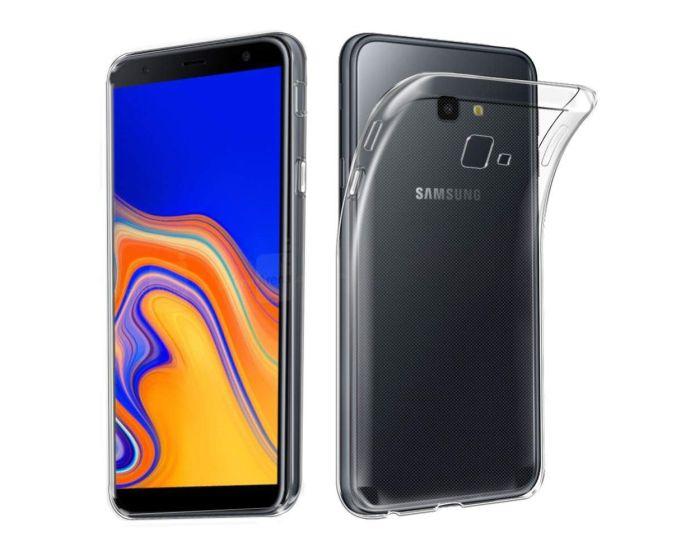 Ultra Slim 0.3mm Silicone Case Θήκη Σιλικόνης Διάφανο (Samsung Galaxy J4 Plus 2018)