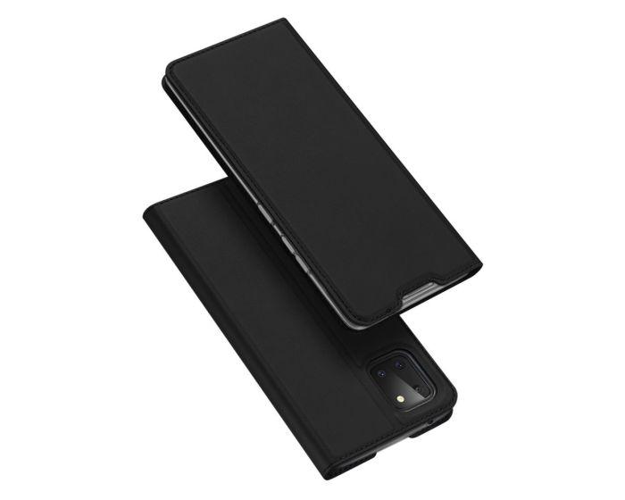 DUX DUCIS SkinPro Wallet Case Θήκη Πορτοφόλι με Stand - Black (Samsung Galaxy Note 10 Lite)