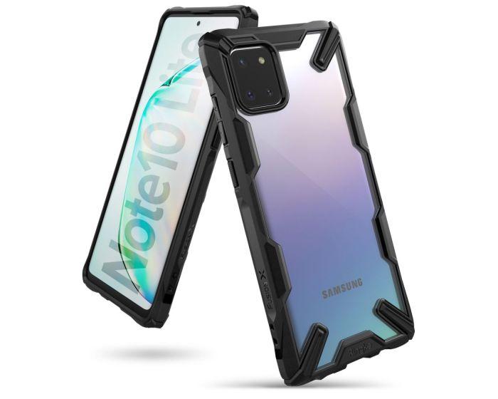 Ringke Fusion-X Σκληρή Θήκη με TPU Bumper Black (Samsung Galaxy Note 10 Lite)