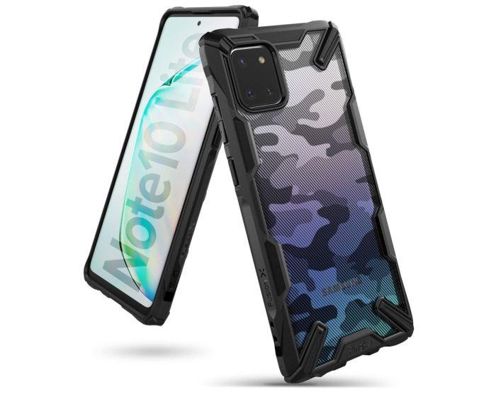 Ringke Fusion-X Σκληρή Θήκη με TPU Bumper Camo (Samsung Galaxy Note 10 Lite)