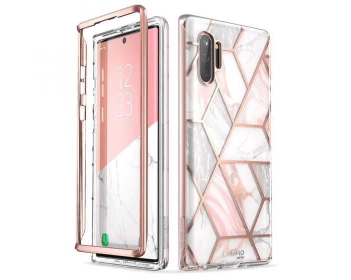 i-Blason Ανθεκτική Θήκη Cosmo Full Body Case Without Built-In Screen Protector Marble (Samsung Galaxy Note 10 Plus)