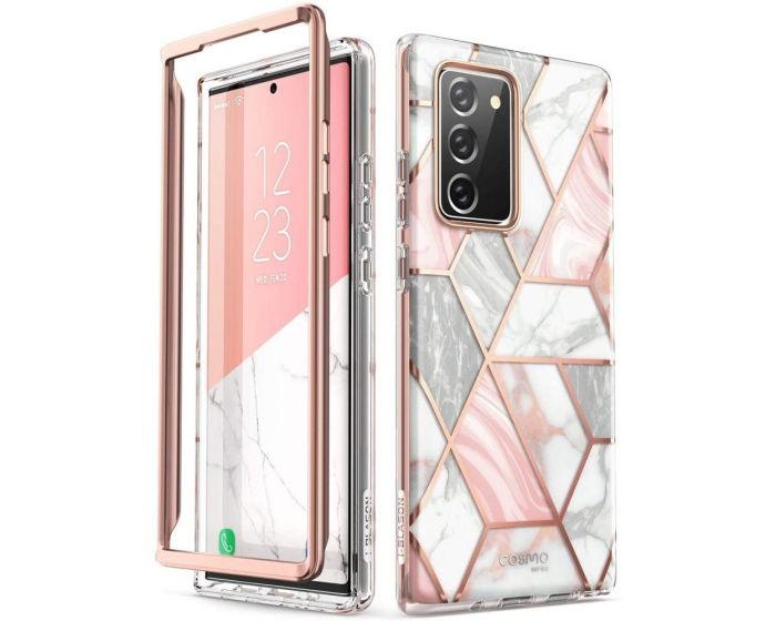 i-Blason Ανθεκτική Θήκη Cosmo Full Body Case Without Built-In Screen Protector Marble (Samsung Galaxy Note 20)