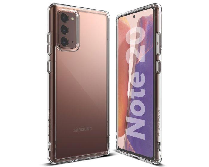 Ringke Fusion Σκληρή Θήκη με TPU Bumper Clear (Samsung Galaxy Note 20)