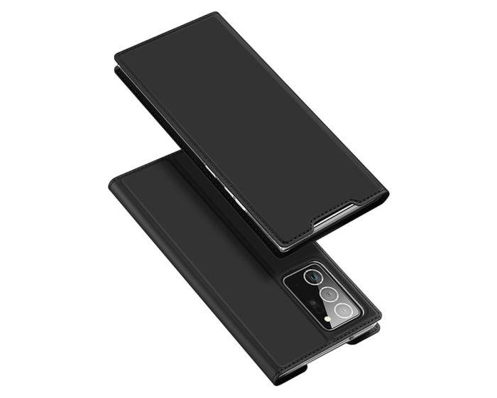 DUX DUCIS SkinPro Wallet Case Θήκη Πορτοφόλι με Stand - Black (Samsung Galaxy Note 20 Ultra)