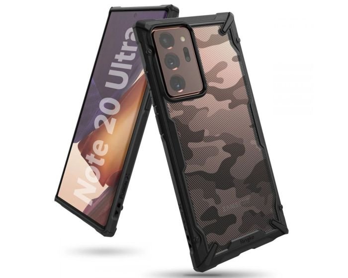 Ringke Fusion-X Σκληρή Θήκη με TPU Bumper Camo (Samsung Galaxy Note 20 Ultra)