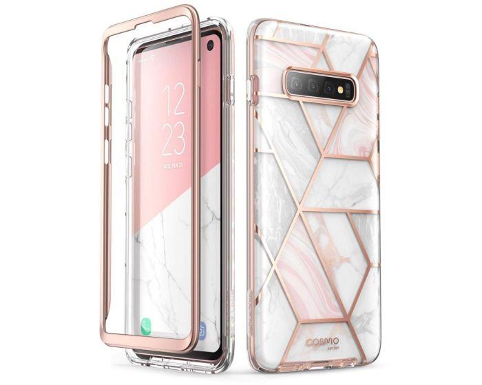 i-Blason Ανθεκτική Θήκη Cosmo Full Body Case Without Built-In Screen Protector Marble (Samsung Galaxy S10)