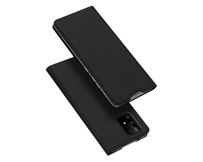 DUX DUCIS SkinPro Wallet Case Θήκη Πορτοφόλι με Stand - Black (Samsung Galaxy S10 Lite)