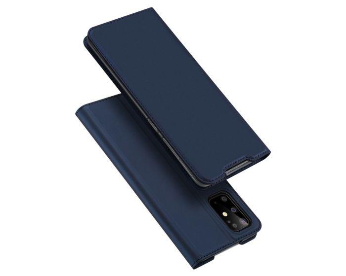 DUX DUCIS SkinPro Wallet Case Θήκη Πορτοφόλι με Stand - Navy Blue (Samsung Galaxy S20 Plus)