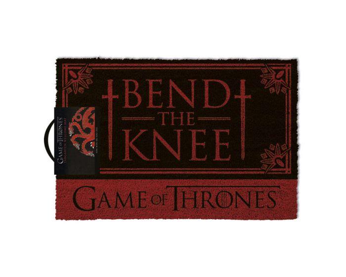 Game of Thrones (Bend the knee) Door Mat - Πατάκι Εισόδου 40x60cm