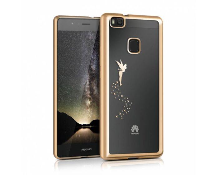KWmobile Electro Bumper Silicone Case Slim Fit Fairy (38045.21) Θήκη Σιλικόνης Gold (Huawei P9 Lite)
