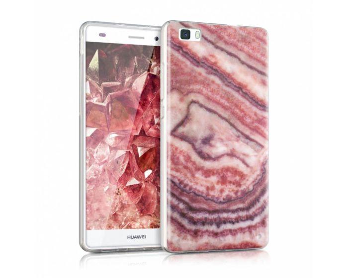 KWmobile Gemstone Design Silicone Case (38848.08) Θήκη Σιλικόνης Ροζ (Huawei Ascend P8 Lite)
