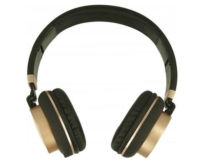 GJBY Audio Headphones (GJ-18) Ακουστικά 3.5mm με Καλώδιο 1.5m - Black
