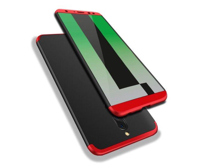 GKK Luxury 360° Full Cover Case Black / Red (Huawei Mate 10 Lite)