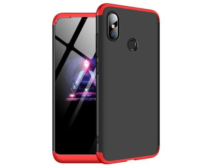 GKK Luxury 360° Full Cover Case Black / Red (Xiaomi Mi8 SE)