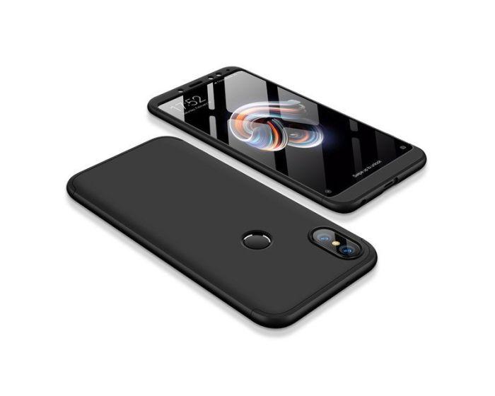 GKK Luxury 360° Full Cover Case Black (Xiaomi Redmi S2)
