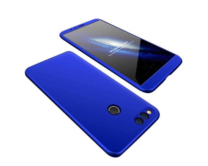 GKK Luxury 360° Full Cover Case Blue (Huawei Honor 7X)