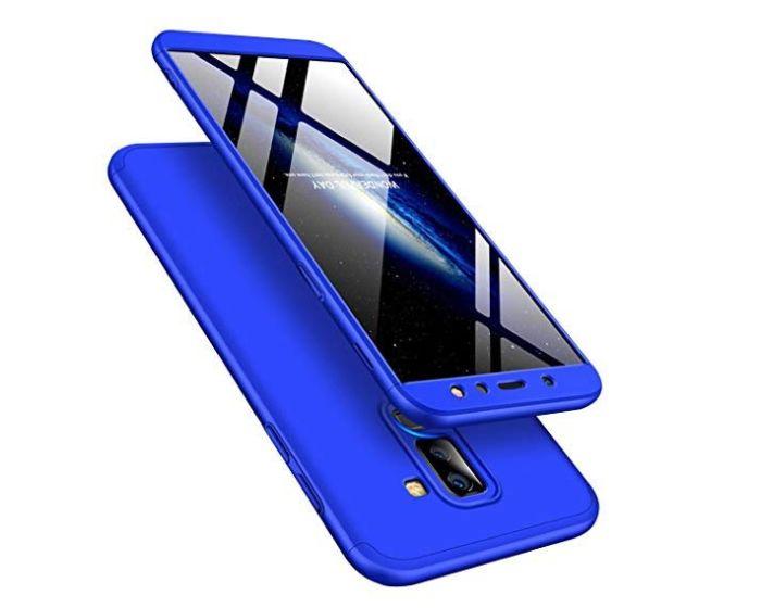 GKK Luxury 360° Full Cover Case Blue (Samsung Galaxy A6 Plus 2018)