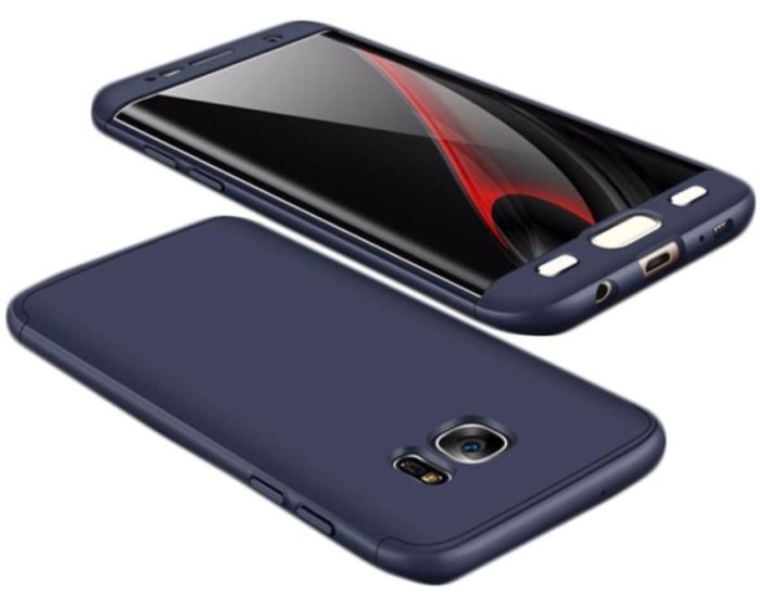 GKK Luxury 360° Full Cover Case Navy Blue (Samsung Galaxy J3 2017)