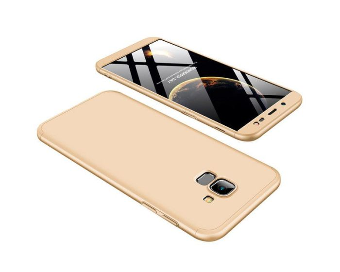 GKK Luxury 360° Full Cover Case Gold (Samsung Galaxy J6 2018)